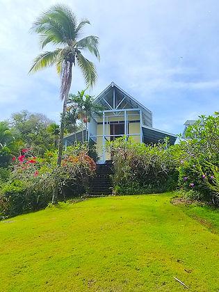 Maison Familiale avec Titre de Propriétésur une île tropicale