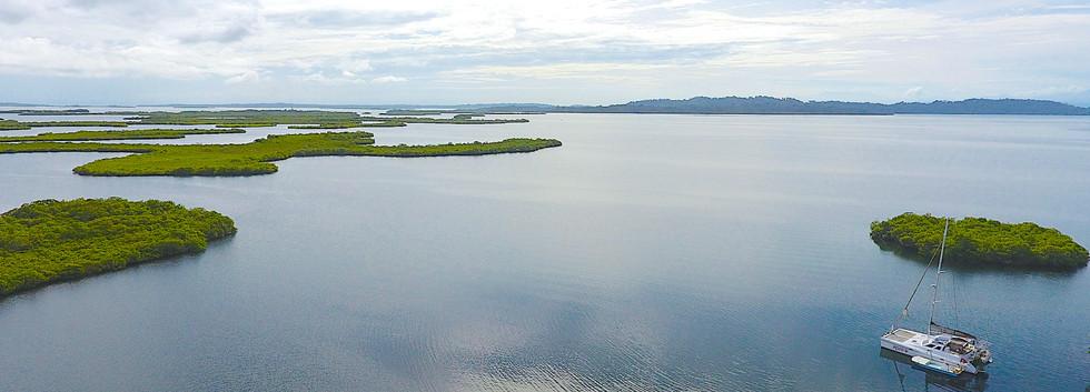 Calm and deep Dolphin Bay