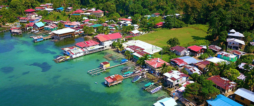 Titled Oceanfront Home in the Caribbean, Bocas del Toro, Panama