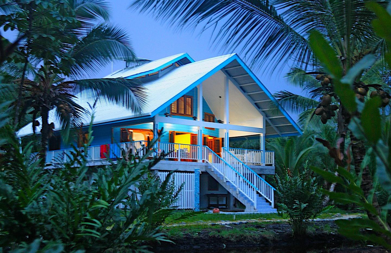 Caribbean Beach House in Bocas del Toro, Panama