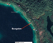 Location of Luxury over-the-water bungalow on Bocas Island, (move-in ready)