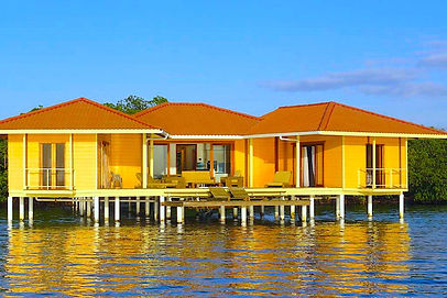 Luxury over-the-water bungalow on Bocas Island, (move-in ready)