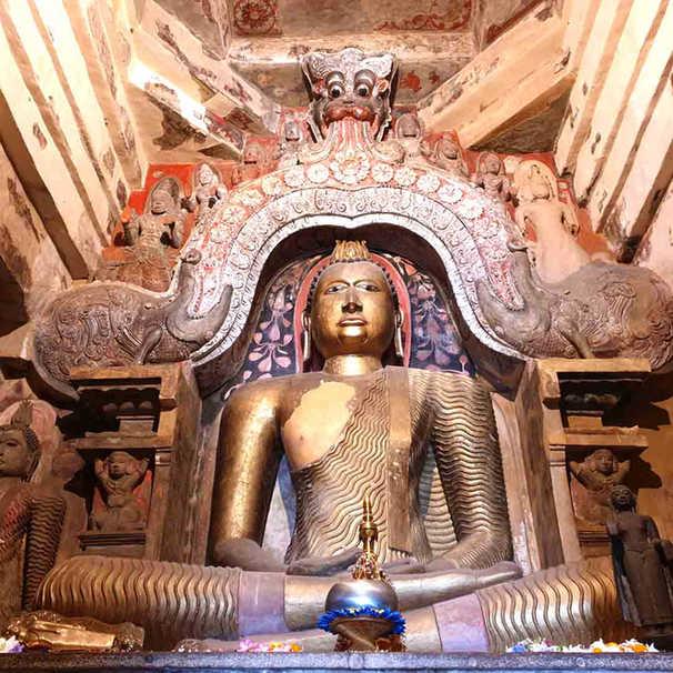 Lankathilanke Temple in Kandy