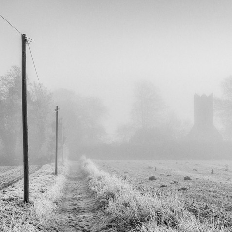 Path to St Andrews, Frosty Morning