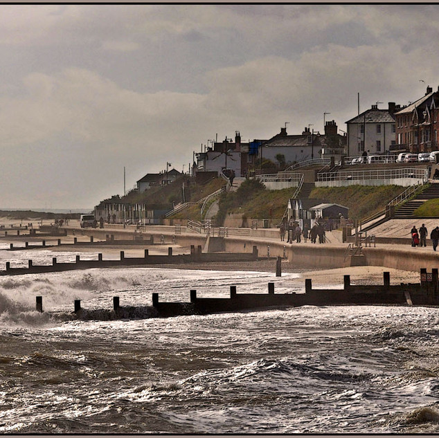 Cold day in Southwold