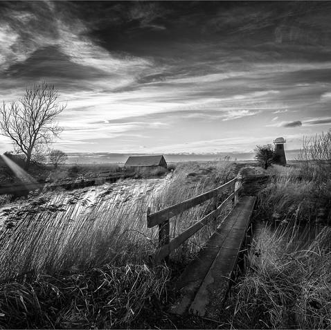 Sunset Somerton Marsh