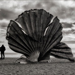 Photographing Aldeburgh Shell