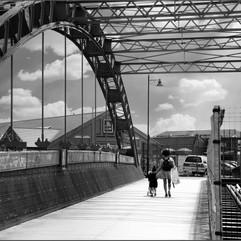 On the Iron Bridge