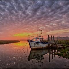 Sunrise Thornham Harbour
