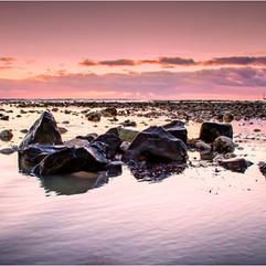 Sunset on Elmer Sands