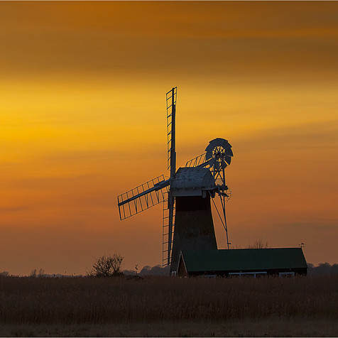 Dusk at St Bennets Mill