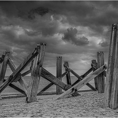 Pier Remains in Yarmouth