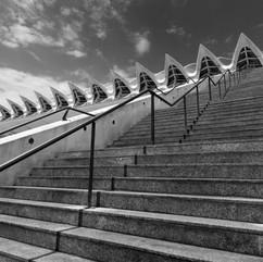 Steps to Turia Gardens