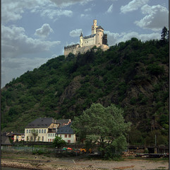 Castle on the Rhine Germany