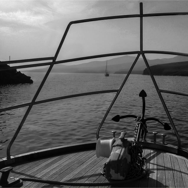 Leaving Lanzarotte Harbour