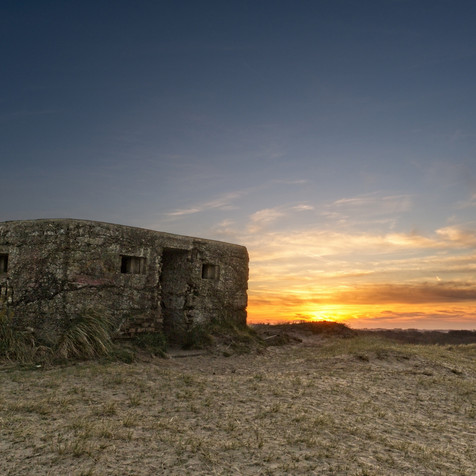 Pillbox Sunset