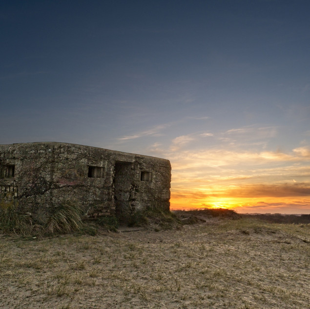 Pillbox Sunset