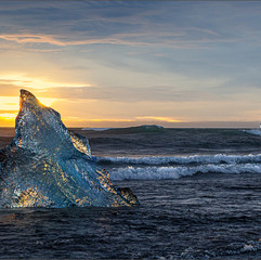 Diamond Beach Sunrise