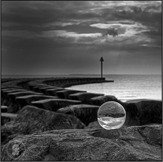 Image In A Glass Ball