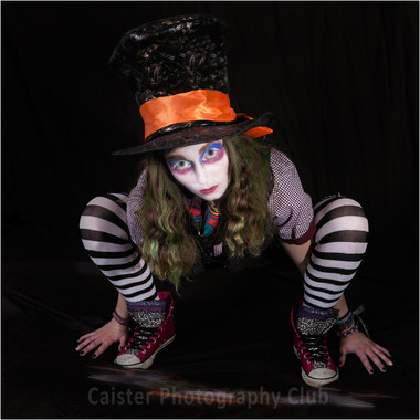 Rebecca As Mad Hatter