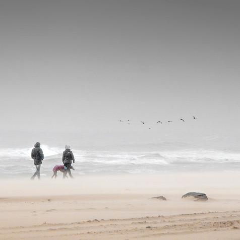 Cold Day on Winterton Beach