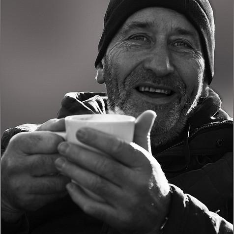 A nice hot cuppa !