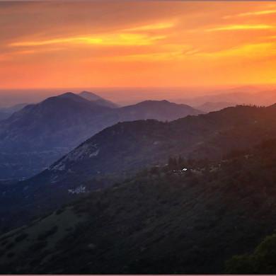 Sunset Over Sequoia