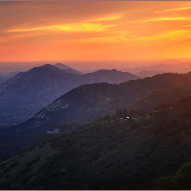 Sunset Over Sequoia