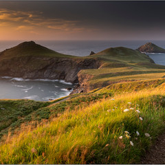 Pentire Point  Headland Cornwall