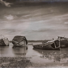 Old boats pin mill