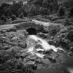 Ashness Bridge above Derwent