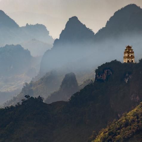 Ngoc Son Temple in Vietnam