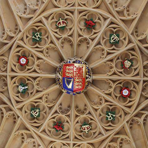 Hampton Court ceiling