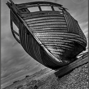 ''Old Fishing Boat'' Dungeness