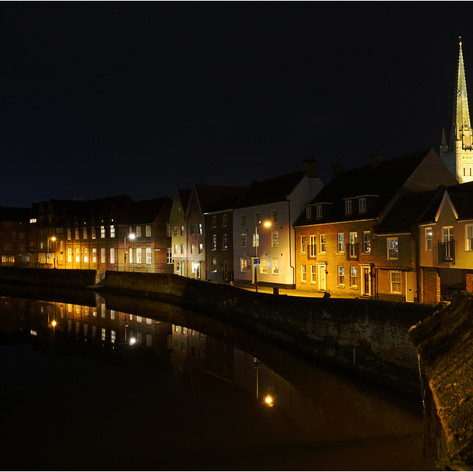 Along the river in Norwich