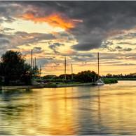 River Thurne Sunset