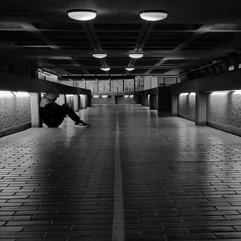 Alone in the Barbican