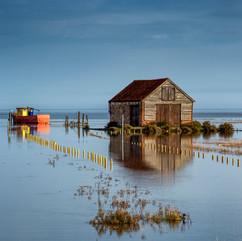 High tide at Thornham