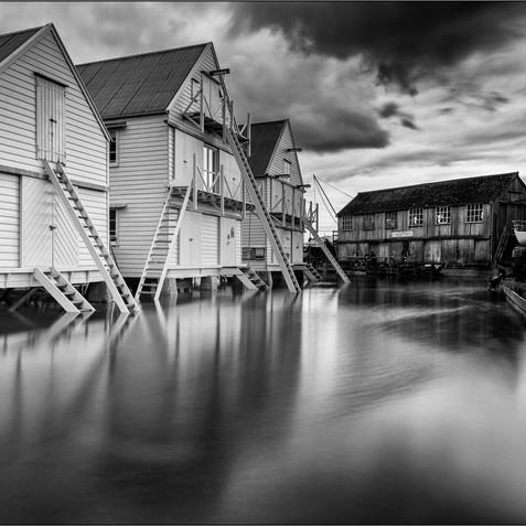 Sail Lofts At High Tide