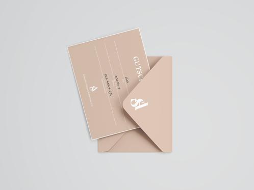 300€ Luxury Gift Card