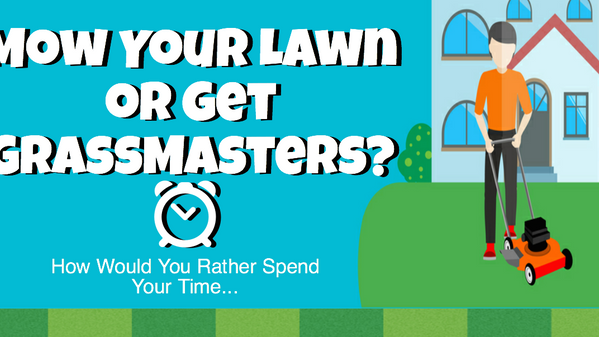 Time Saved by Hiring a Lawn Service