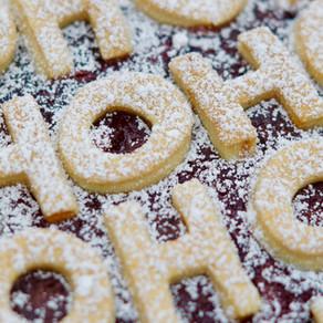 """""""Wenn Foodblogger Weihnachten feiern"""" und ein Cherry Pie mit Marzipan"""