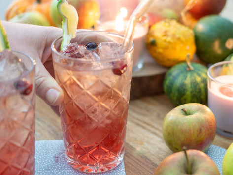 Thanksgiving-Dinner: Cranberry Gin Cocktail