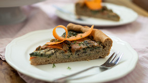 Champignon-Karotten-Quiche