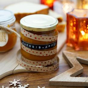 Weihnachtliche Kürbis-Apfel-Marmelade