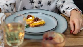 Thanksgiving-Dinner:  Kürbis-Crostini mit Camembert