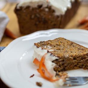 Zuckerfreier Karotten-Kuchen