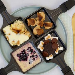 Raclette - Nachtisch aus dem Pfännchen