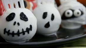Grusel-Cakepops für Halloween