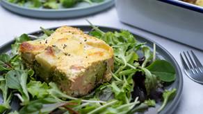 Broccoli-Lachs-Auflauf